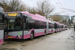 Huszonöt új trolibuszt helyeztek forgalomba Kolozsváron