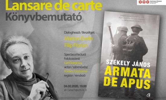 Bemutatták Bukarestben Székely János A nyugati hadtest című kisregényének román nyelvű fordítását