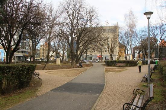 Felújítás előtt áll a Caragiale park