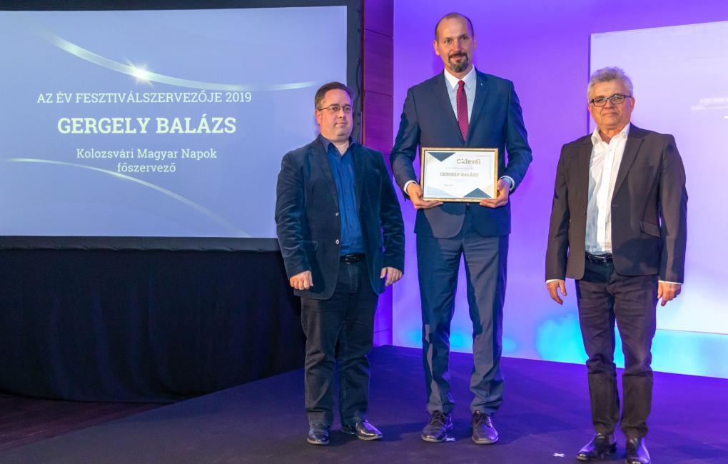 A Kolozsvári Magyar Napok szervezőit is díjazták