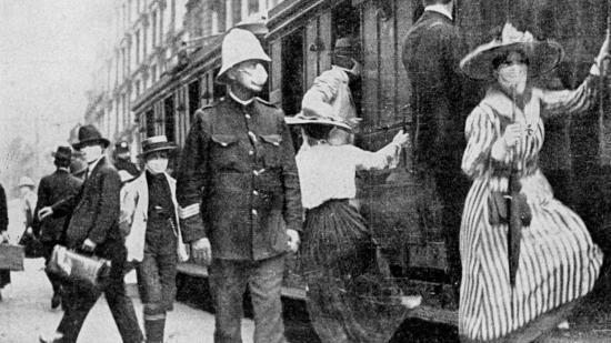 Spanyolnátha Nagyenyeden az I. világháború végén