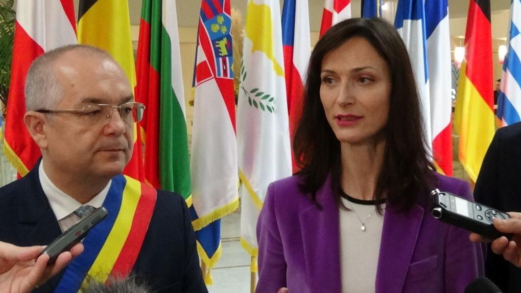 Erdély fővárosában járt ma Mariya Gabriel európai biztos