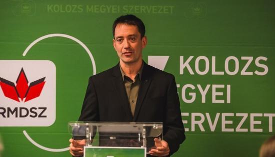 Csoma Botond az RMDSZ kolozsvári polgármester-jelöltje