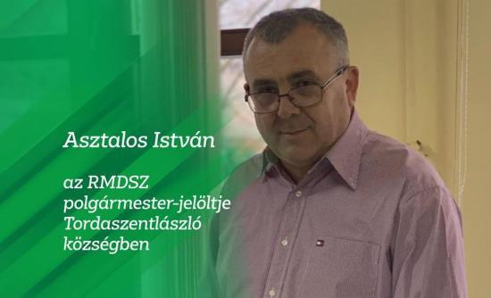 Tordaszentlászló: Asztalos István nyerte az előválasztást