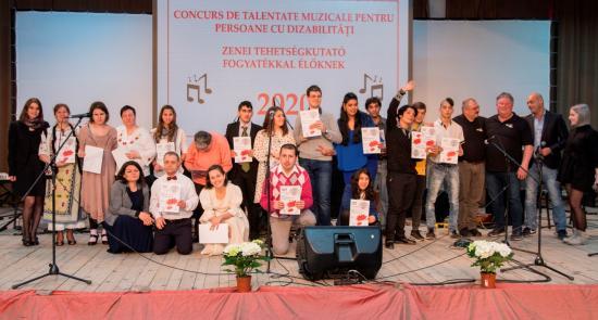 Kolozsvári siker a fogyatékkal élők zenei tehetségkutatóján