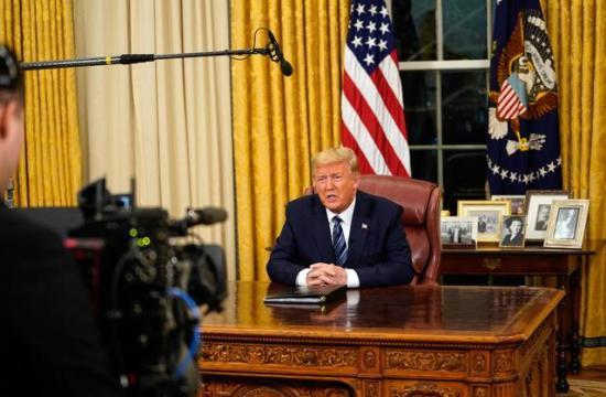 Trump: az Egyesült Államok 30 napra felfüggeszt minden beutazást Európából