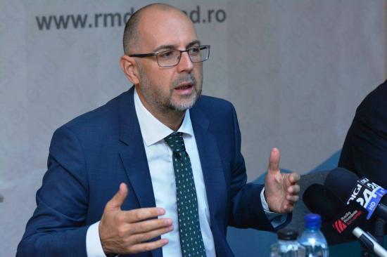 Kelemen Hunor: az RMDSZ megszavazza a Cîţu-kormány beiktatását