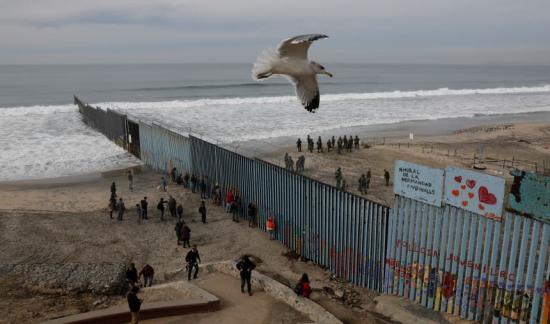 Az a híres amerikai-mexikói határ