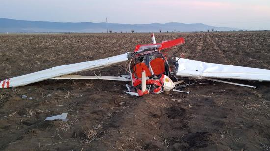 Halálos repülőgép-baleset Arad megyében