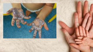 Csillámporos kézmosás-workshop