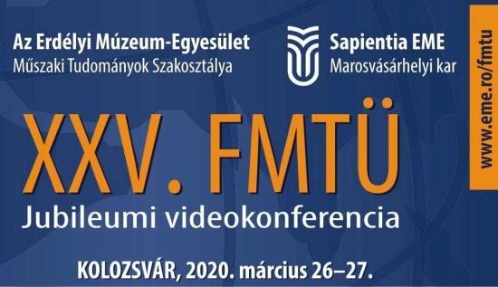 Videokonferencián mutatják be a jubileumi FMTÜ tanulmányait
