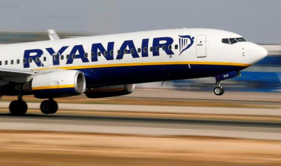 Leáll a Ryanair