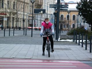 Biciklis futárcég: 30 százalékos visszaesést tapasztaltunk