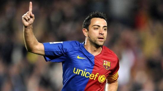 Squawka: Xavi a század legjobb labdarúgója