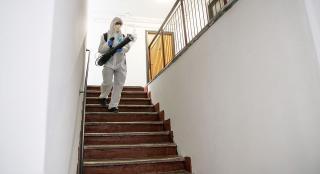 Folytatja a fertőtlenítést a városháza
