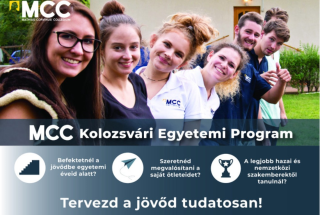 Erdélyi magyar egyetemistáknak hirdet ...