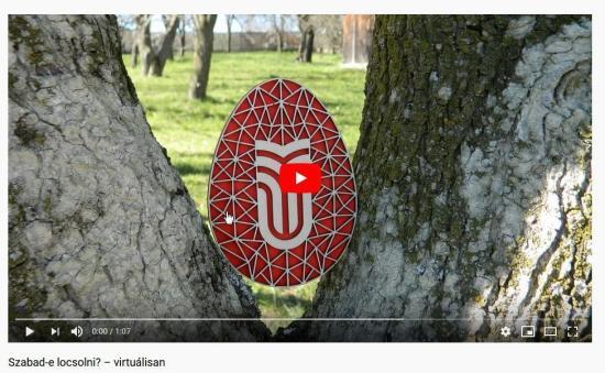 VIDEÓÖSSZEÁLLÍTÁS - Szabad-e locsolni? – kolozsvári Sapientia módra