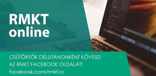 Tágítsd a látószöged az RMKT online-nal!