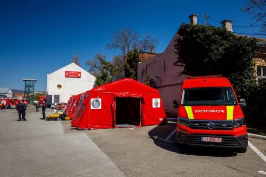 Országos premier: mozgó kórházat avattak Kolozsváron