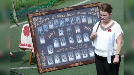 Körösfő: készül a nyolcadikosok tablója