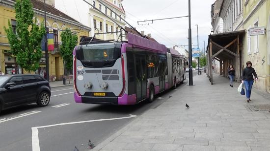 VIDEÓ - Kolozsvár legnagyobb forgalmú megállói is eléggé üresek