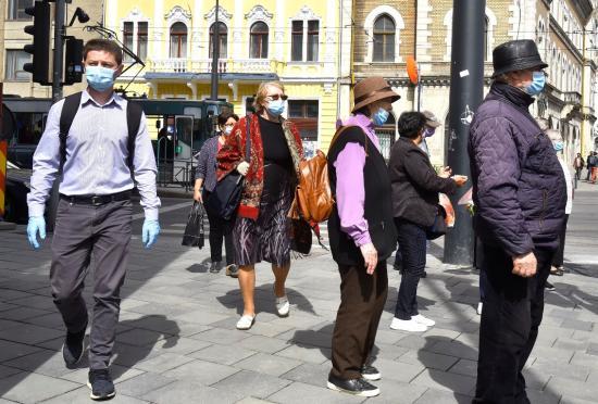 Kolozsvár a veszélyhelyzet első napján (1)