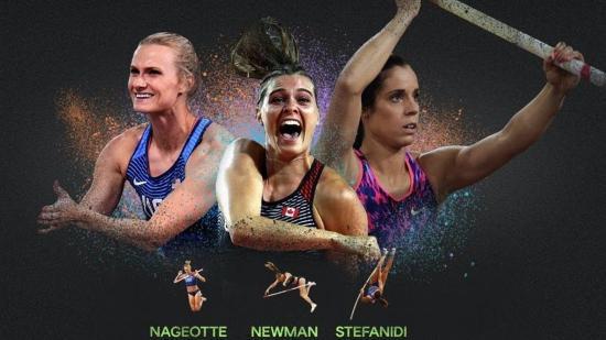 Az olimpiai bajnok Sztefanidi nyerte a női rúdugrók kerti versenyét
