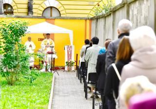 Urunk mennybemenetelét ünnepelték a piarista templomnál