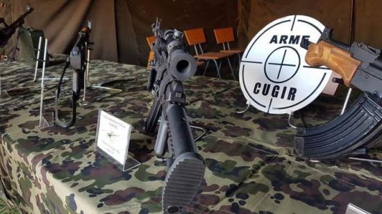 Robbanás a kudzsiri fegyvergyárban