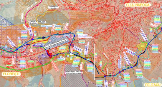 Jóváhagyták a kolozsvári körgyűrű bekötőútjainak tervét