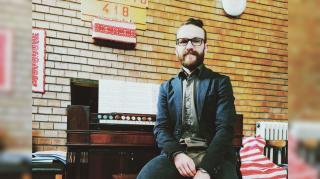 Fazakas Ádám Sándor, kerekdombi kántor: zenével örömöt adni az embereknek