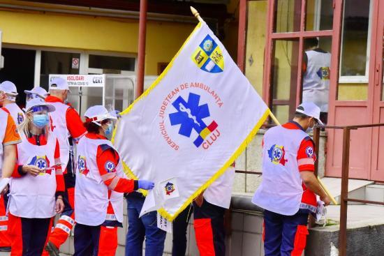 Kolozsváron is sztrájkoltak a mentősök