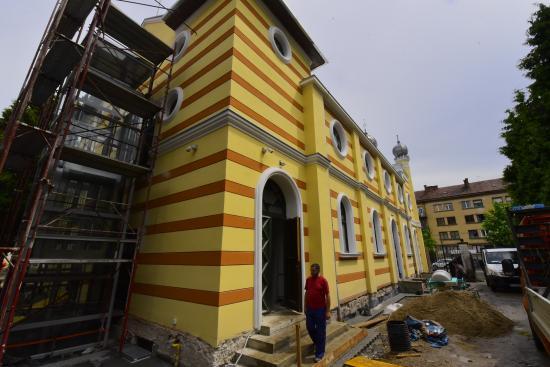 Kívül, belül megújul a kolozsvári zsinagóga