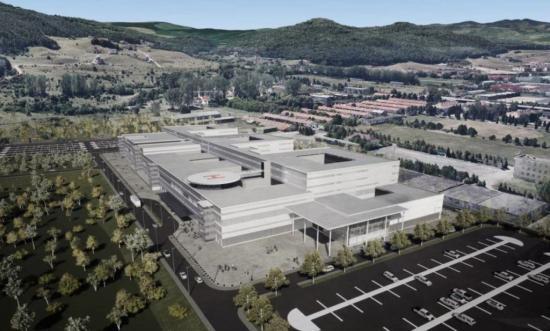 Jóváhagyták a kolozsvári regionális kórház európai finanszírozását