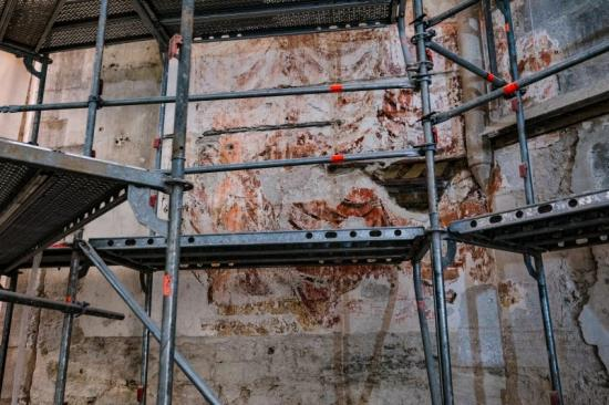 Az állványok mögött – a Szent Mihály-templom restaurálási munkálatairól