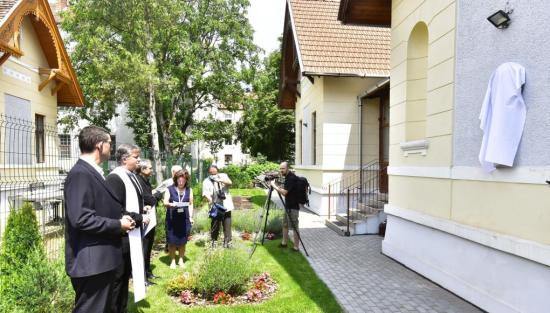Dsida-emlékplakettet avattak Kolozsváron
