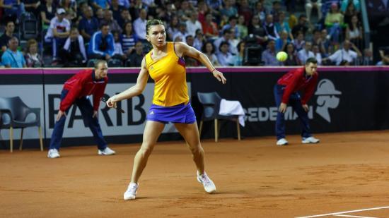 Kolozsvári bemutató tenisztorna Simona Haleppel
