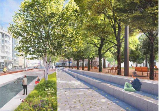 Felújítják a Caragiale Parkot és környékét