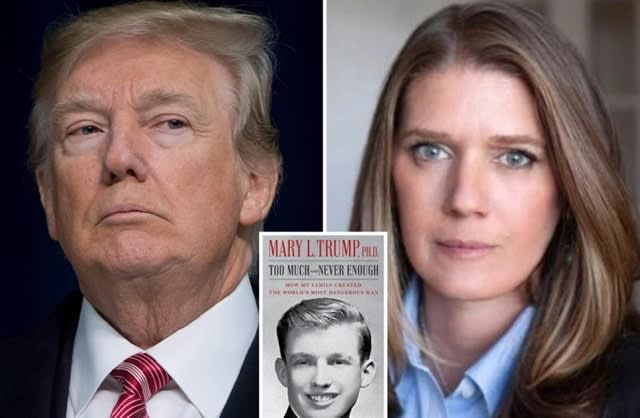 Donald Trumpot rossz színben feltüntető könyvet írt az unokahúga