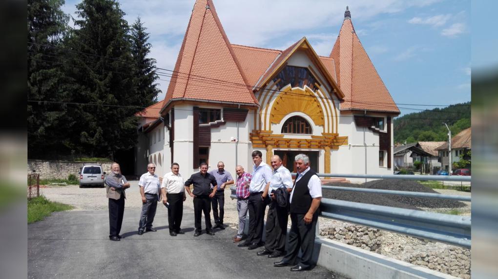 Korszerű kulturális központ épült az egykori kántortanítói lakás helyén