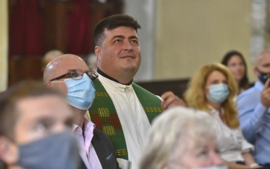"""Meghitt búcsú a piarista templomban """"Steli atyától"""""""
