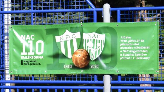 Száztíz éve játszotta első hivatalos mérkőzését a NAC