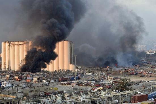 Katasztrófa sújtotta várossá nyilvánították Bejrútot