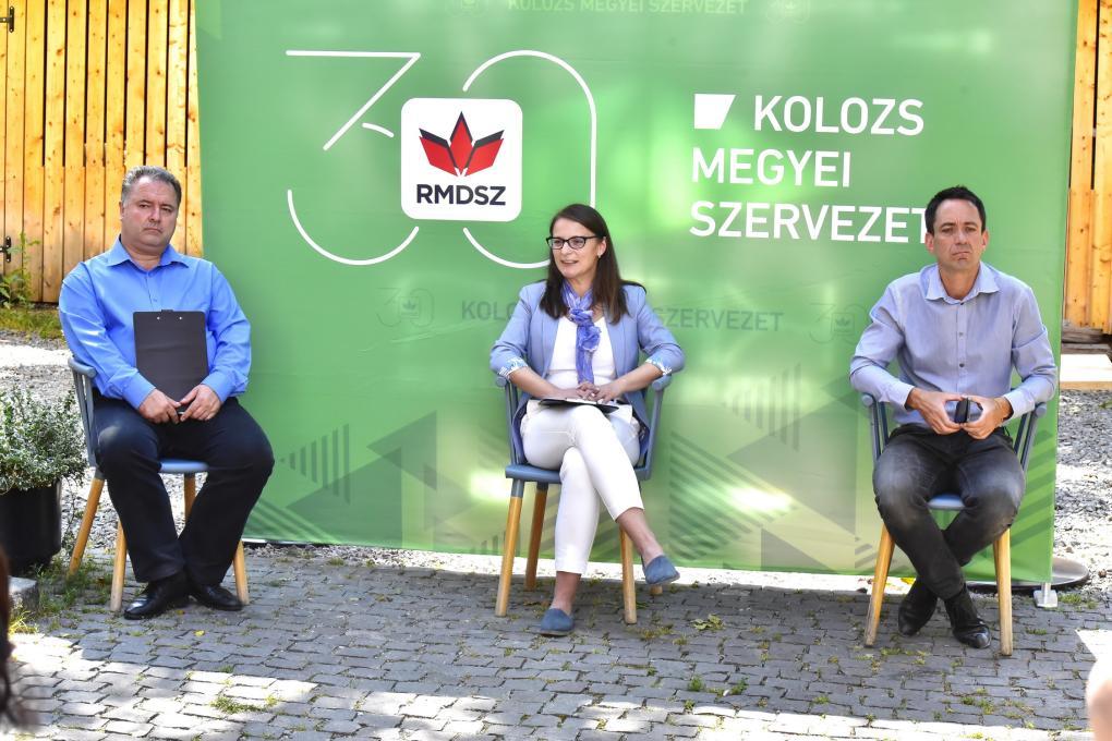 Mérleget vontak eddigi munkájukról az RMDSZ helyi vezetői
