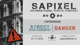 Sapixel fotópályázat: fókuszban az utca és a veszély