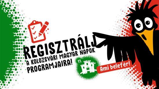 Mától lehet regisztrálni a 11. Kolozsvári Magyar Napok eseményeire