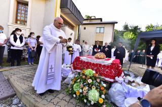 Megszentelték a Magyarok Kenyerét Kolozsváron