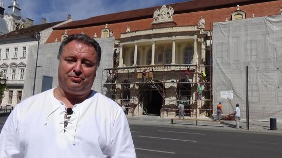 VIDEÓINTERJÚ – Vákár István: végre lekerülnek a Bánffy-palotáról az állványok
