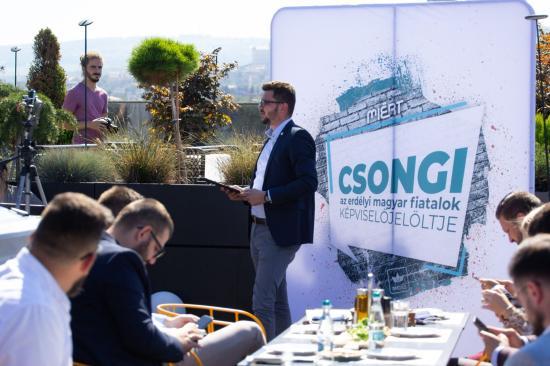 MIÉRT: Oltean Csongor az erdélyi magyar fiatalok képviselőjelöltje