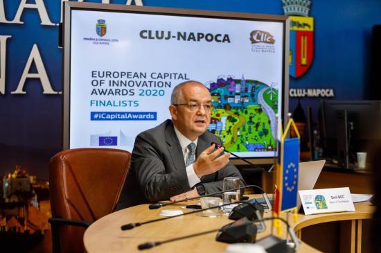Kolozsvár rövidlistás az Európa Innovációs Fővárosa versenyen